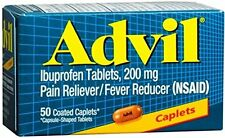 Advil Pain Reliever/Fever Reducer 50 Coated Caplets