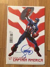 Marvel Captain America #1 Steranko Variant Signed