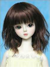 "New 1/6 Girl BJD SD DOC DOD LUT Doll Wig Long Dollfie 6"" Bjd Doll Wig F36"