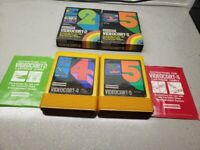 Fairchild Videocart 2 and 5 Complete in BOX Bundle READ please