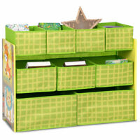 Kids Toys Organizer Removable Bins Chest Storage Boxes Childs Playroom Bedroom