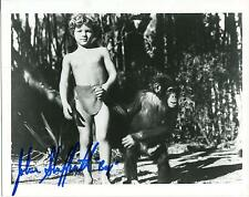 JOHNNY SHEFFIELD BOY IN TARZAN MOVIES CHILD ACTOR SIGNED PHOTO AUTOGRAPH