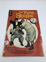 Gold Key Comic The Three Stooges #48 1970 September baseball c5