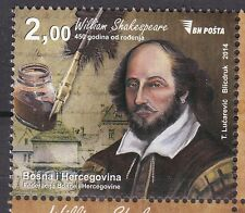 BOSNIA&HERZEGOVINA 2014** MNH SC # 450th years birth of Williams Shakespeare's