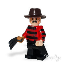 Custom Lego Bricks Freddy Krueger with removable Claws from Nightmare on Elm St