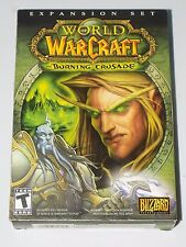 World of Warcraft: The Burning Crusade (PC, 2007) Windows 2000/XP Mac - (#TT108)