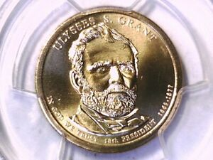 2011 P Ulysses S. Grant Presidential Dollar PCGS MS 67 Position A 20507596