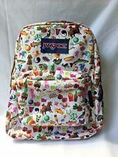 JANSPORT SUPERBREAK STICKERS Fruit Food Poodle Unicorn Panda BACKPACK SCHOOL BAG