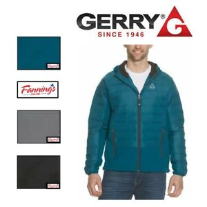 SALE! Gerry Men's Hybrid Hooded Sweater Down Jacket- VARIETY SIZE/COLOR - F32