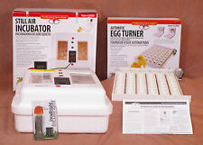 Little Giant Egg Incubator 9300 | Auto Turner | Fan | Candler - Poultry Chicken