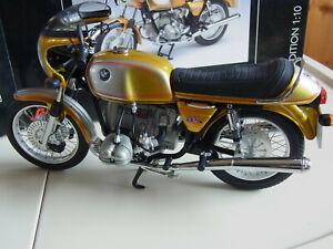 1/10 BMW R90/S Schuco 0652300 ovp wie neu Metallspeichen Rarität Motorrad Modell