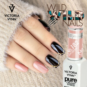 Victoria Vynn PURE CREAMY 182 SOFT STONE Hybrid Manicure Soak Nail Gel LED