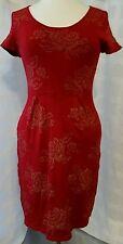 Juniors TO Sweaters Dress Sz L Red Latin Heat retail 52.00 #13.2-1118015
