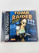 Tomb Raider 3 Adventures Of Lara Croft 1998 Sony Playstation 1 Complete