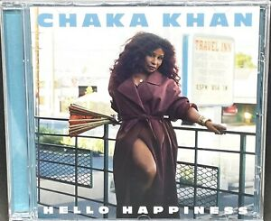 CHAKA KHAN - HELLO HAPPINESS, CD ALBUM, (2019) *NEW / SEALED*