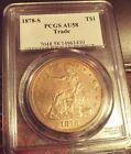 PCGS Trade Dollar Silver Coin 1878S AU58