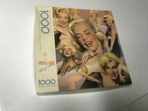 Vintage Marilyn Monroe Jigsaw Puzzle Box Original