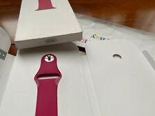 NEW 100% Genuine POMEGRANATE Apple Watch 38mm/40mm Sport Band MWUK2AM/A MWUK2ZM