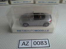Véhicules miniatures Rietze pour Audi 1:87