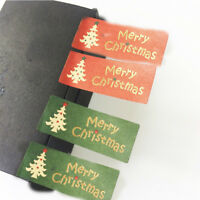100Pcs Merry Christmas Sticker Envelope Seal Gift Food Wrapping Stickers D