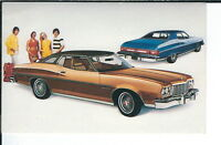 AY-226 - 1975 Gran Torino Brougham Modern Chrome Advertising Postcard