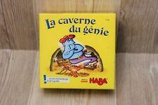 Jeu HABA : La Caverne du Génie - un jeu d'assemblage et de rapidité - complet