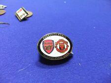 vtg badge arsenal  man utd community shield 2003 millennium stadium football