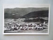 Ansichtskarte Lam mit Schwarzeck Bayr. Wald 1935