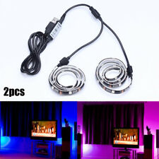 TV LED Stripe 5050 SMD RGB Leiste Streifen Band Lichtband Fernbedienung Netzteil