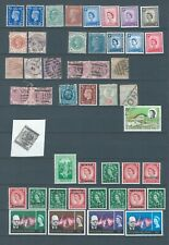 Great Britain & Colonies mint and Fu stamps - Kings & Queens