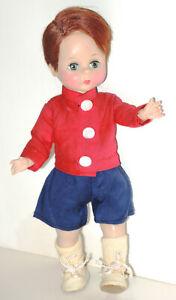 """7 ½"""" Madame Alexander Wendy-kins 1955 """"Bill"""" BKW boy Doll ~ Scarce!"""