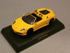 1/64-KYOSHO-SEMI ASSEMBLED FERRARI COLLECTION #5-F430 SPIDER-YELLOW-NEW
