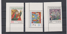 Czechoslovakia stamps SET MNH ** 1978 Mi 2476/78 ART