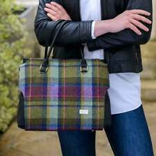 Plaid Handbag - Emily Style - Made in Ireland by Mucros Weavers, Emily-Bag-574-1