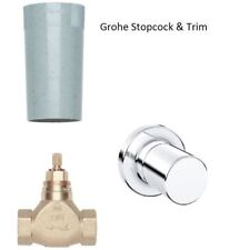 """Grohe Concealed Stop Valve 1/2"""" 29811000 & Grohe 3000 Cosmopolitan Trim 19470000"""