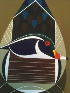 Charley Harper ( Best Dressed Wood Duck ) #29/1500 signed serigraph print