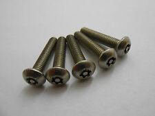 20 x M5 x 40 SECUFAST SECURITY FASTENERS TORX PIN BUTTON HEAD SCREWS 176270 #21