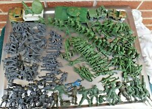 Vintage MPC  WWII Army Soldiers  Toys, Marx & Others Lot of Over 100 from 1960's