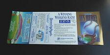 Cool Vintage 1992 Kansas City Royals MLB Major League Baseball Schedule