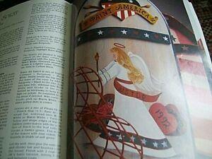 Decorative Painter Magazine 1992 #4 - US Patriotic/Yankee Wares/American Angel/F
