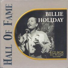 Billie Holiday - Hall Of Fame (2002, 5xCD, Box Set, Incl. 40-Page Booklet)