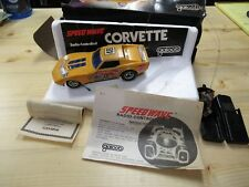VINTAGE GALOOB CORVETTE STING RAY CAR GREAT DECALS FOR PARTS OR RESTORE PROJECT