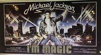 "MICHAEL JACKSON ""THE WIZ"" RARE ORIG. 1978 ITALIAN POSTER RENAMED ""I'M MAGIC""!!!"