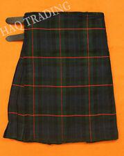 Scottish Gunn Tartan Acrylic fabric 8 Yards Kilt & Kilt Pin. 13oz.