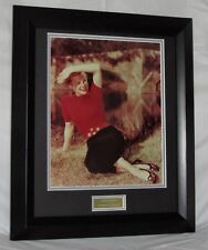 A405JA JUNE ALYSON SIGNED CLASSIC ACTRESS FRAMED GUARANTEED AUTHENTIC AFTAL #199