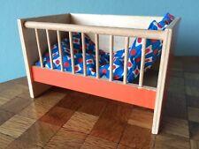 Kinderbett Wickeltisch Bodo Hennig 70er Barbie Skipper Puppenhaus 1:8 dollhouse