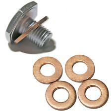 Peugeot Citroen Diesel HDI Oil Sump Plug & 5 OIl Sump Washers OE: 0313.33 SP5W+