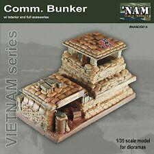 NAM models - VIETNAM 1/35 COMMUNICATIONS BUNKER  RESIN MODEL KIT