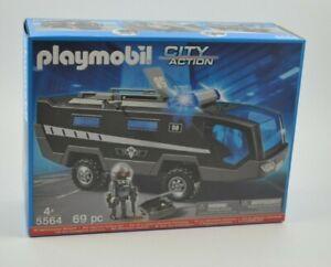 Playmobil 5564 - SEK-Einsatztruck mit Licht und Sound NEU/OVP