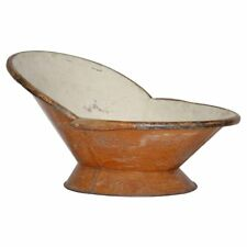 Victorian Bath Tub with Faux Wood Painted Finish with Provenance, circa 1895